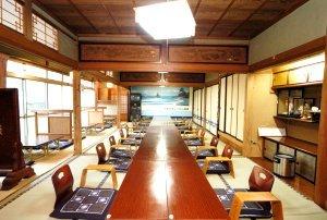 雨晴海岸 海辺の旅館 女岩荘 大宴会場