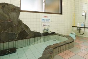 雨晴海岸 海辺の宿 女岩荘 ラジウム、ゲルマニウム、トルマリン鉱石入り浴場