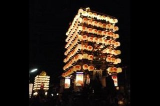 富山のお祭り けんか山伏木曳山祭り