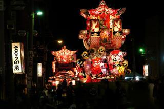 富山のお祭り 福野夜高祭