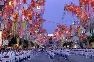 富山のお祭り 高岡七夕祭り