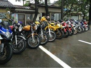 氷見港直送海鮮民宿 女岩荘には毎年たくさんのバイクツーリングにお越しになります